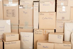 pack your items with labelling the boxes