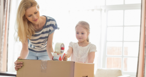 Pack the essential boxes with kids