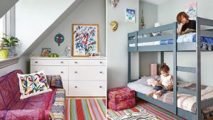Getting the kids' rooms ready for when they arrive is important to a smooth transition.