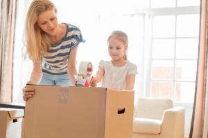 pack an essential box and lets's the kids do the same