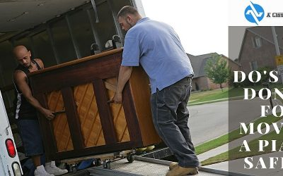 Do's And Don'ts For Moving A Piano Safely   A Class Movers
