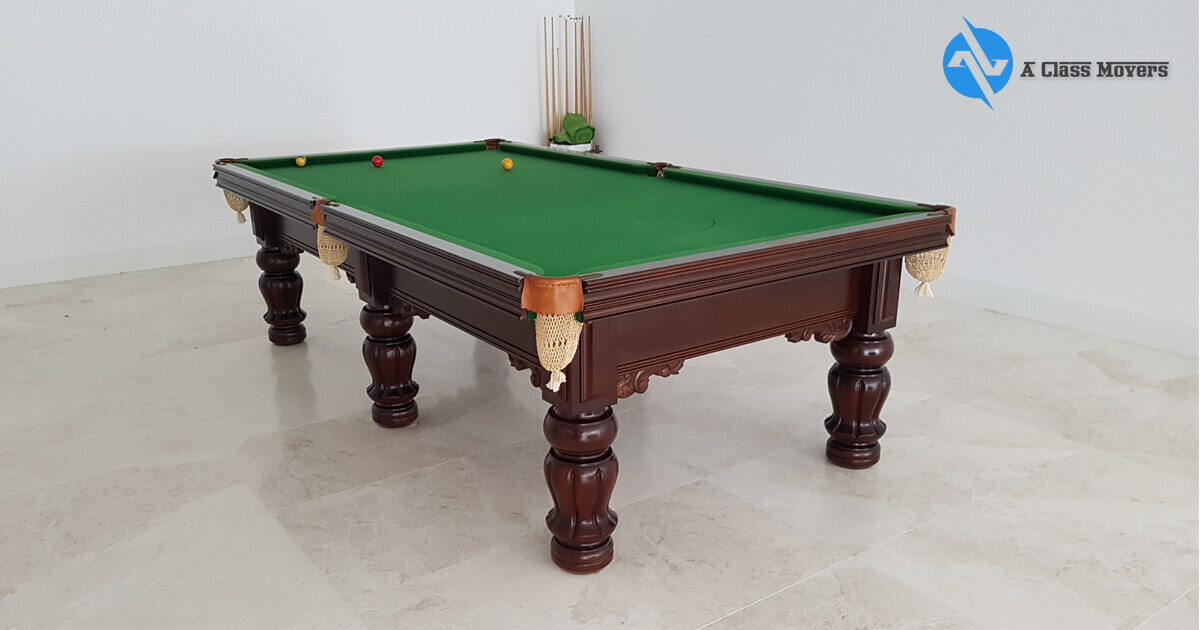 Pool Table Removalists Fitzroy